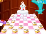 Checkers of Alice in Wonderland