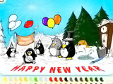 Happy New Year Penguins