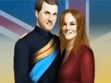 Kate and William Dress Up