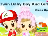 Twin Baby Boy and Girl