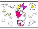 Colorea a Daisy