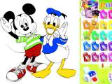 Colorea a Mickey