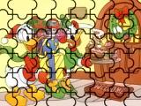 Donald y Daisy en Navidad