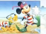 Mickey & Pluto Puzzle